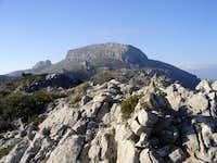 S'Esclop seen from the ridge...