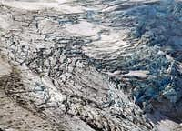 Eliot Glacier as seen from...