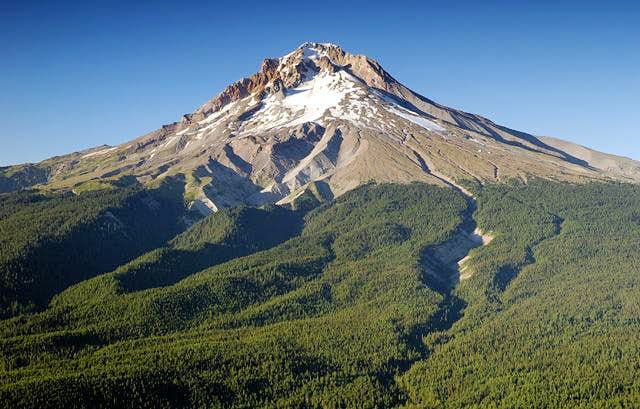 Mount Hood as seen from the...