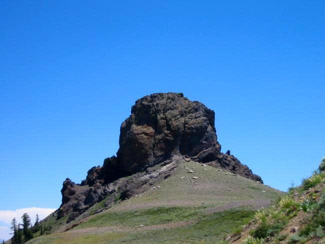 Jeff Davis Peak from the west...