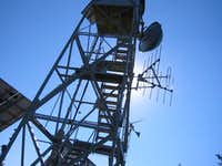 The firetower atop Black...