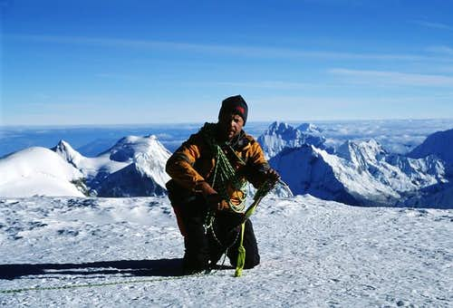 Huascaran summit picture in...