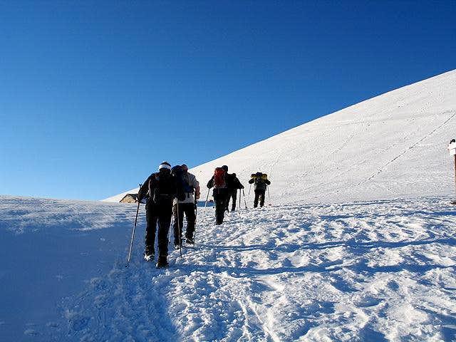 Pasubio : Alpe Alba tableland