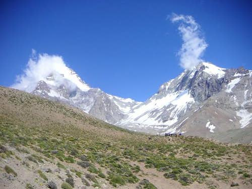 Aconcagua and Ameghino from...