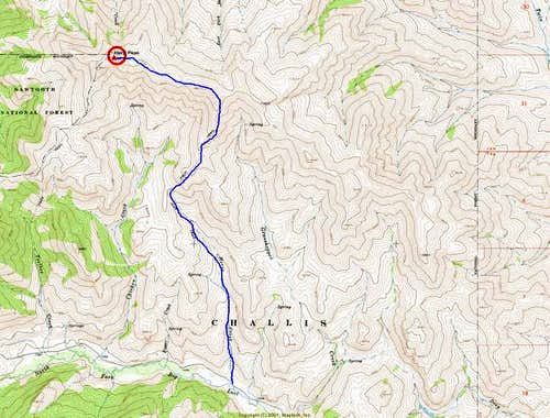 Herd Peak\'s Horse Creek / SW...