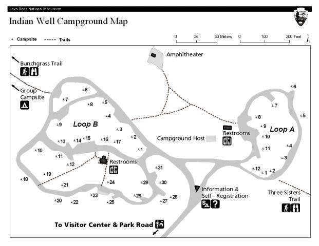 Map of Indian Wells...