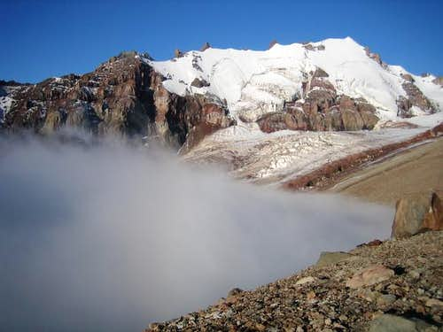 Ortsveri, just above the clouds