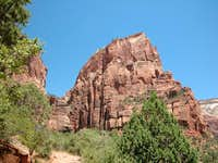 Look at Angels Landing from...