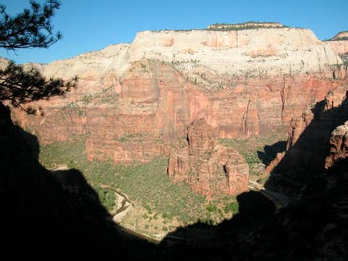 Morning view of the canyon...