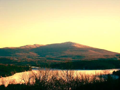 Mt. Monadnock seen from the...