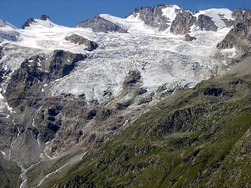 The heart of the Gran Paradiso range