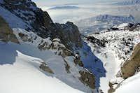 Lone Peak cirque, from near...