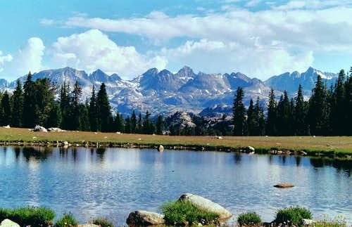 Looking at Titcomb Basin from...