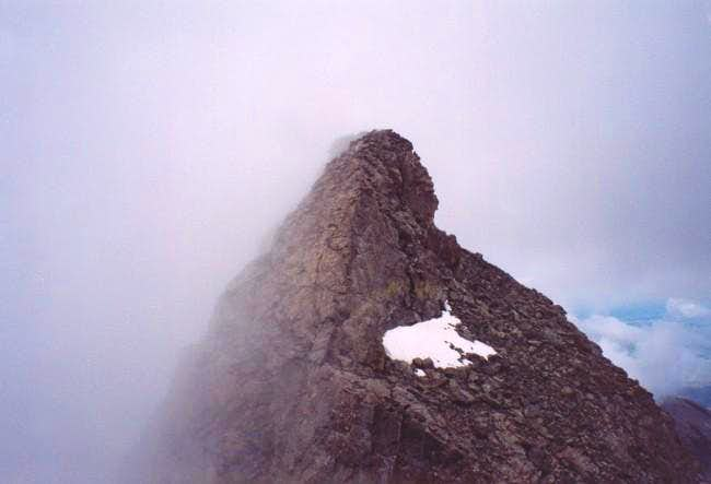 Captain Bivwacko Tower viewed...