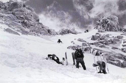 Action below Pico de la...