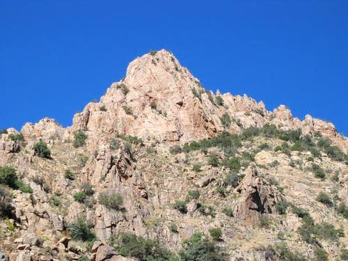 UN 5985, seen from Pima Canyon.