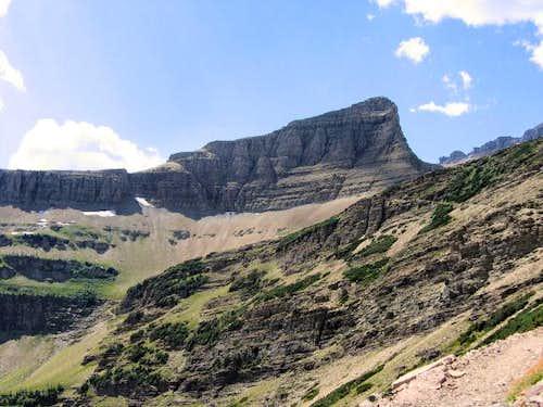 Triple Divide Peak, from not...