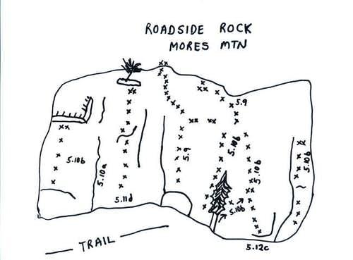 Mores Mountain Roadside Rock...
