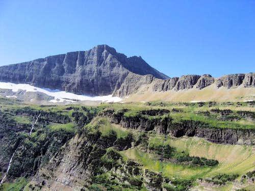 Razoredge Mountain, from the...
