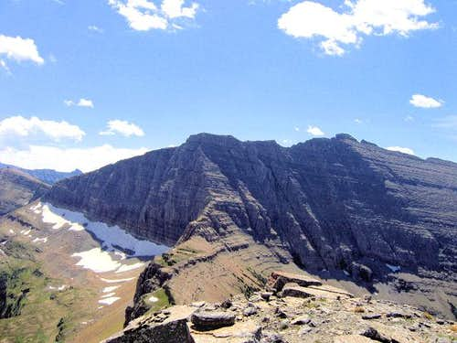 Razoredge Mountain, almost...