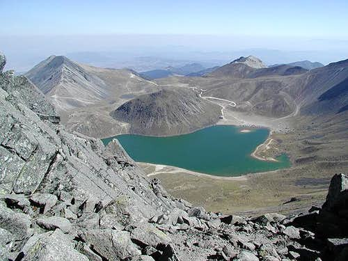 Laguna del Sol as viewed from...