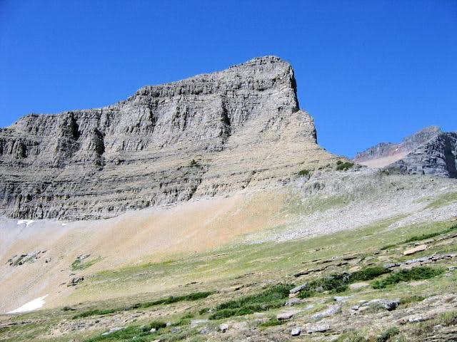 600' of cliffs up Triple...