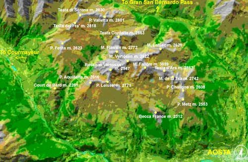 Fallère Group Map