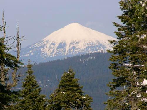 Mount McLoughlin from Soda...
