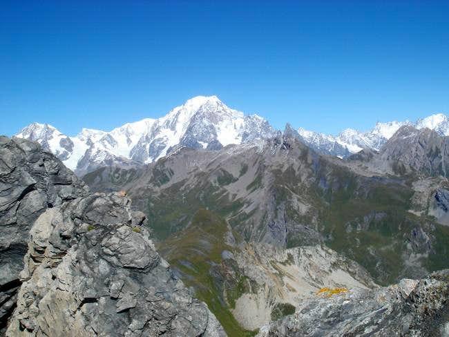 Mont Blanc, Dent du geant and...