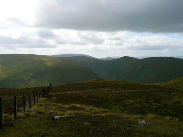 A view back from near Cairn...