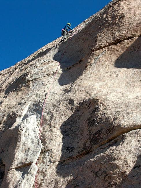 Jeff leading Double Dip slab...