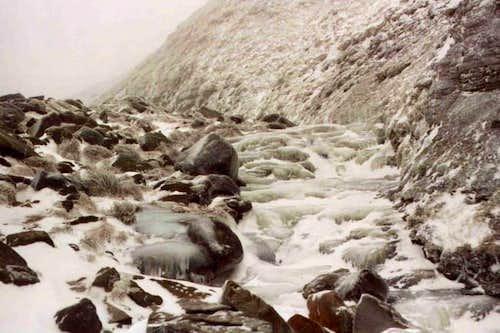 Totally frozen. Grindsbrook...