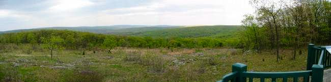 View from the overlook near...