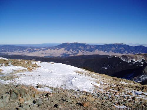 Baldy Peak & Mt. Phillips (my...