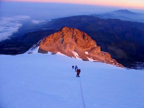 Close to the summit of Orizaba