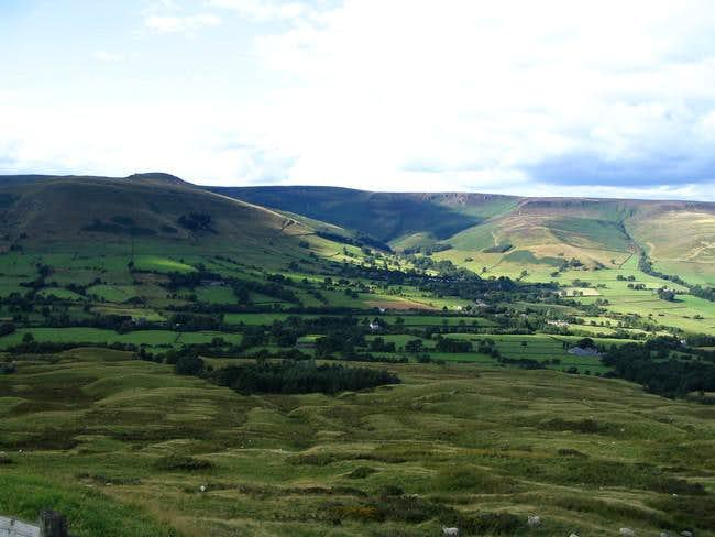 The south edge of Kinder...
