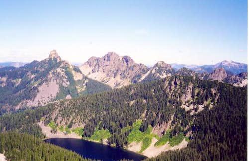 From L to R: Kaleetan Peak,...