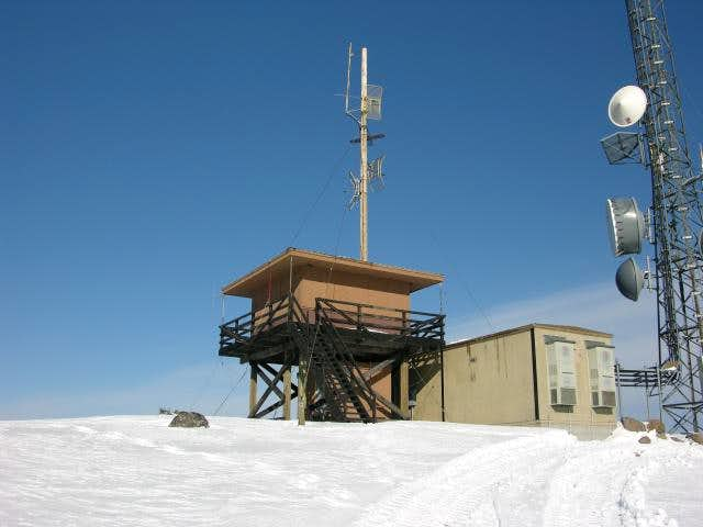 Summit lookout tower.