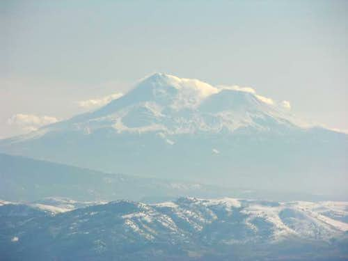 Mount Shasta as seen from...