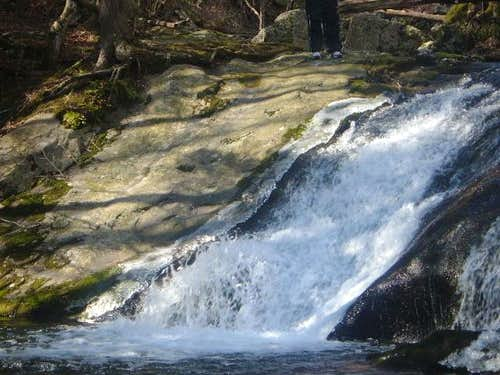 Big Rock Falls along the Mill...