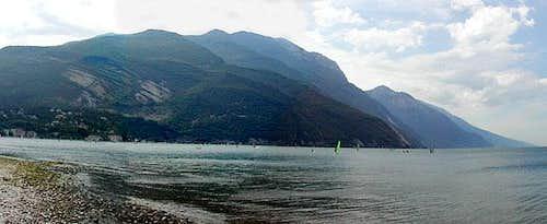 Monte Baldo range from...