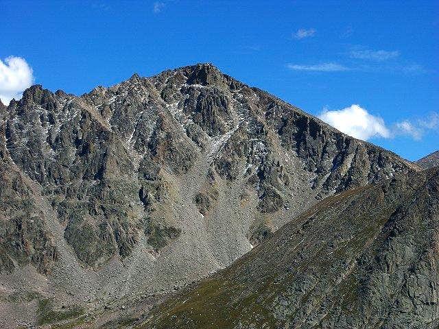 The West Face of Hagues Peak...