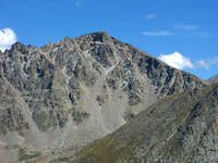 The West Face of Hagues Peak...