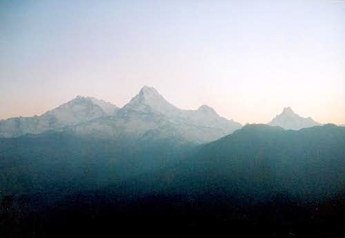 From left to right: ANNAPURNA...