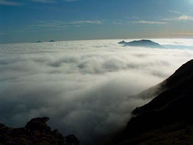 Cloud inversion from Beinn...