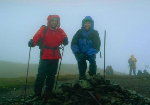 Gloomy Conditions on Meall a'...