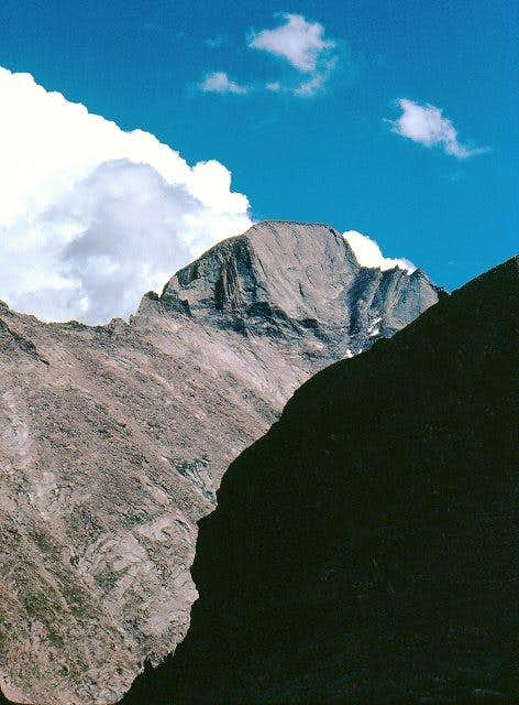 The West Face of Longs Peak...