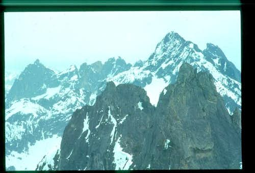 Closeup, Unclimbed Pinnacle #4