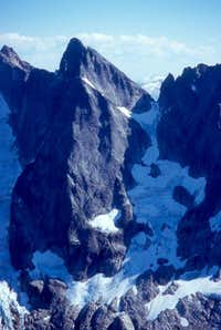 This is the north face of...