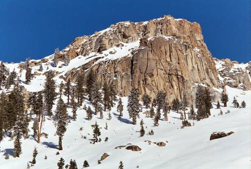 On approach to Alta Peak from...